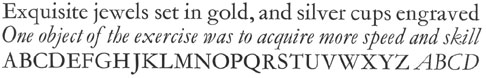 156-Garamond / 174-Garamond cursief